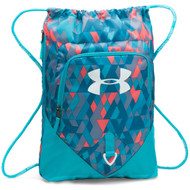 Under Armour Undeniable Sackpack - Pacific/Peach/White