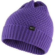 Nike Women'S Cuff Knit Black - Hyper Grape