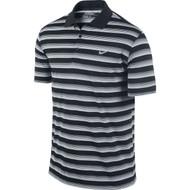 Nike Golf Tech Vent Stripe Polo - Black/Anthracite/Wolf Grey