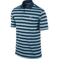 Nike Golf Tech Vent Stripe Polo BLACK/ANTHRACITE/WOLF GREY XL - Blue Force/Clearwater/Wolf Grey