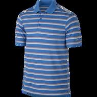 Nike Golf Tech Vent Stripe Polo LYON BLUE/CLEARWATER/WOLF GREY XL - Photo Blue/Deep Royal