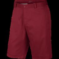 Nike Golf Flat Front Short DARK GREY/DARK GREY/DARK GREY 42 - Gym Red