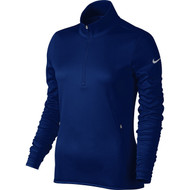 Nike Golf Women's Thermal 1/2 Zip Pullover (Classic Green/Wolf Grey) XS - College Navy/Wolf Grey