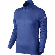 Nike Golf Women's Thermal 1/2 Zip Pullover (Desert Orange/Wolf Grey) XS - Game Royal/Wolf Grey