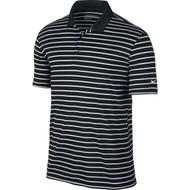Nike Golf Icon Stripe Polo - Black/White