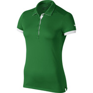 Nike Golf Women's Victory Colorblock Polo - Classic Green/White