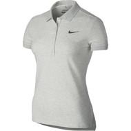Nike Golf Women's Precision Pique Polo - Birch Heather/Dark Grey