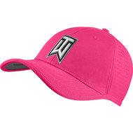 Nike Golf TW Ultralight Tour Adjustable Hat - Hyper Pink/Black