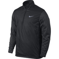 Nike Golf 1/2 Zip Shield Top - Black Heather/Reflective Silver