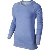 Nike Golf Women's Bunker Crew Top - Chalk Blue/White/Metallic Silver