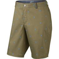 Nike Golf Modern Fit Printed Shorts - Khaki/Photo Blue/White/Wolf Grey