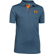 Under Armour Boys' Matchplay Polo - Slate Blue
