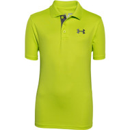 Under Armour Boys' Matchplay Polo - Velocity/Graphite