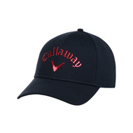 Callaway Golf 2016 Liquid Metal Adjustable Hat - Navy/Red