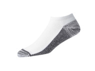 FootJoy ProDry Men's Low Cut Socks - Shoe Size 7-12 - White