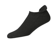FootJoy ComfortSof Men's Roll-Top Socks - Shoe Size 7-12 - Black