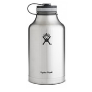 Hydro Flask 64 oz Wide Mouth Insulated Growler - Classic Stainless