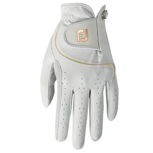 FootJoy Attitudes Women's Golf Gloves Left Hand White/Tan