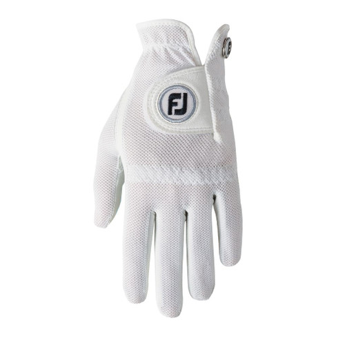 FootJoy Women's StaCooler Golf Glove - White