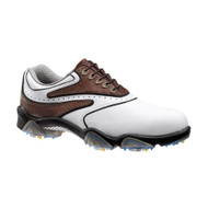 FootJoy SYNR-G Men's Golf Shoes - White/Brown