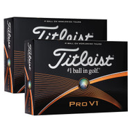 Titleist Pro V1 Golf Balls (Prior Generation) 2 Dozen