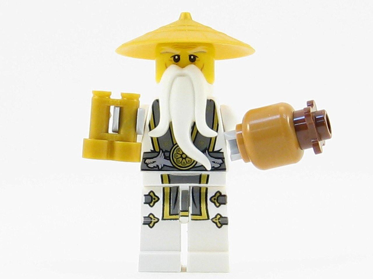lego ninjago master sensei wu from 70604 the brick people