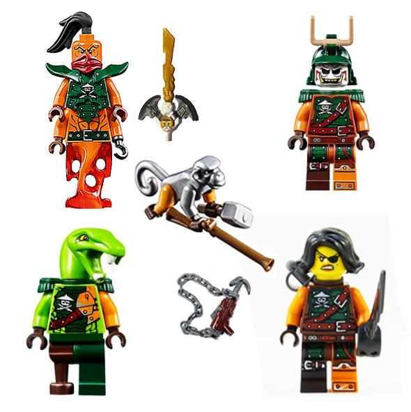 The Lego Ninjago Nadakhan from 70605 Misfortune/'s Keep njo195
