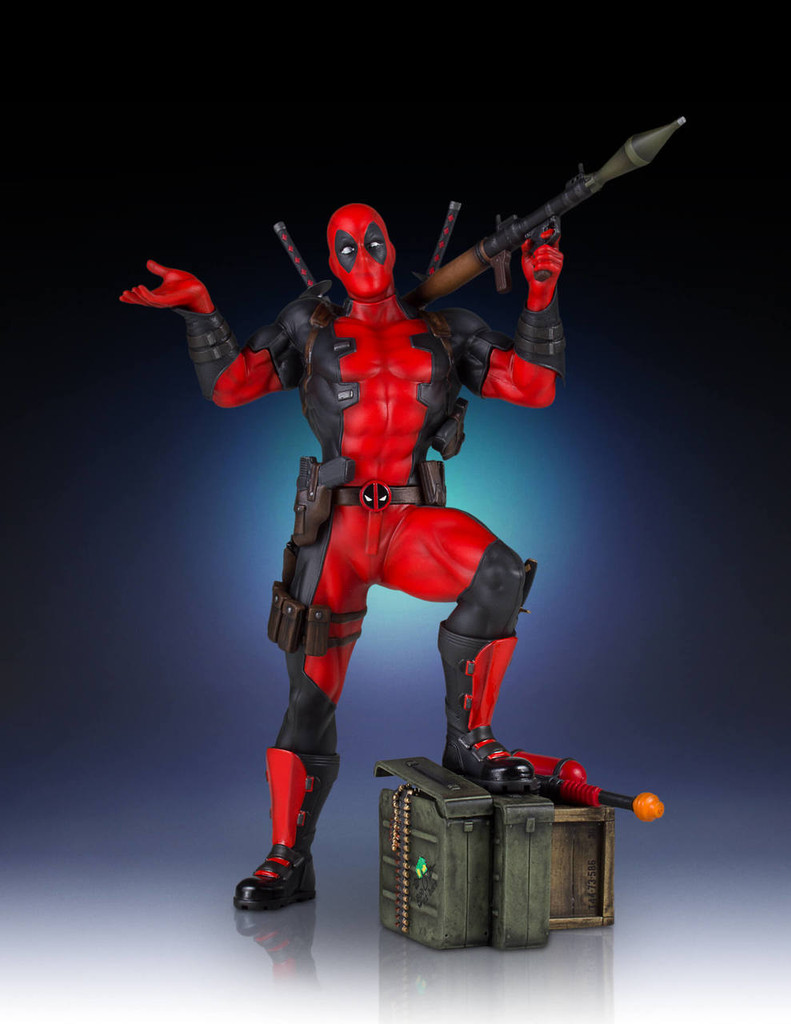 Deadpool Collectors Gallery Statue Thumbnail 7