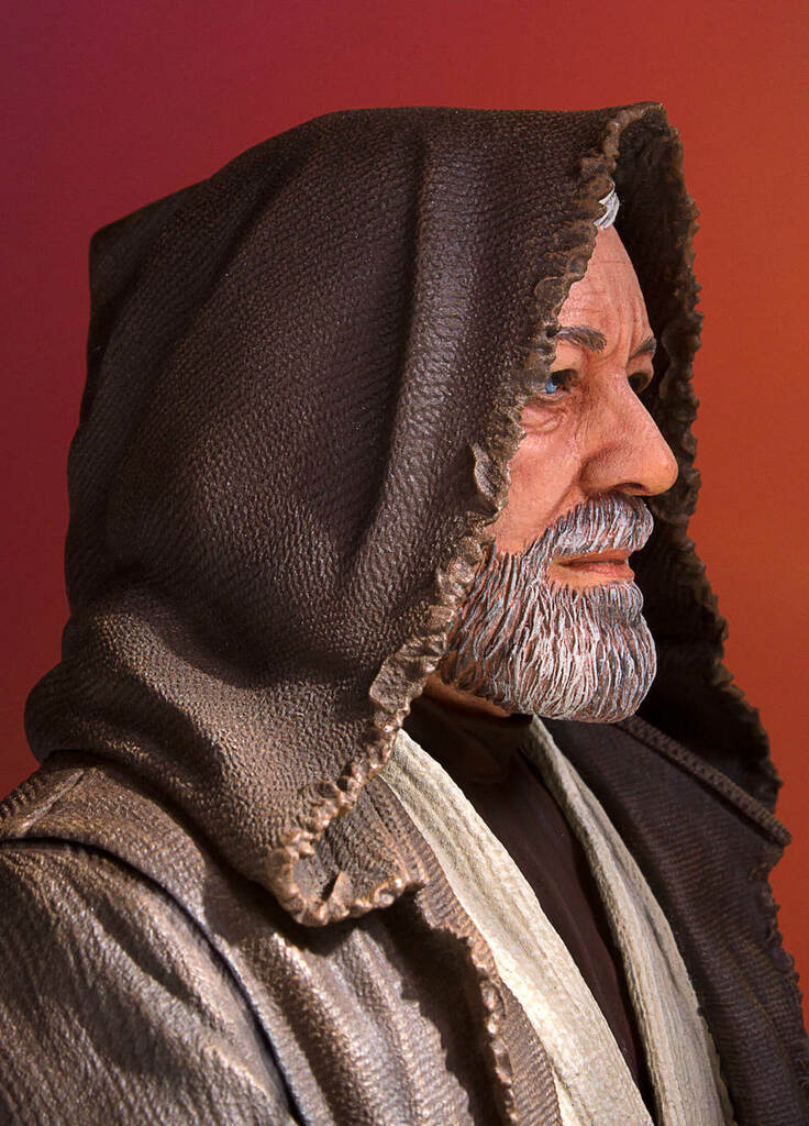 Obi Wan Kenobi (Alec Guinness) Mini Bust - 2017 PGM Gift Thumbnail 12