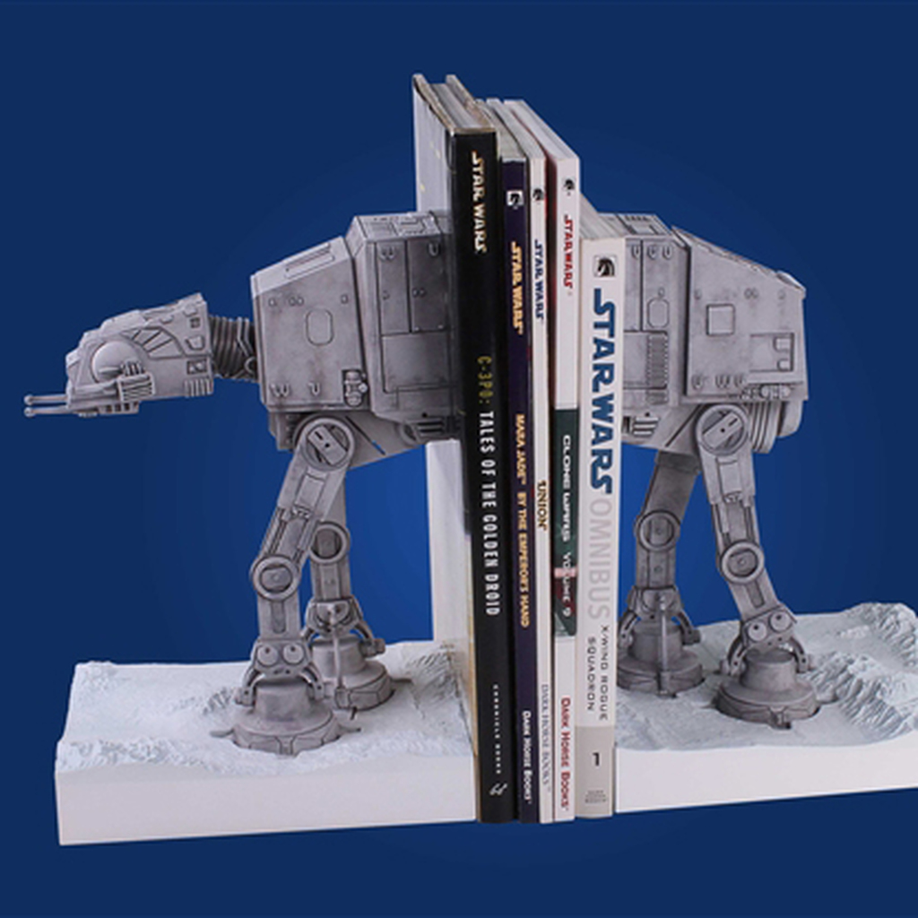 At-At Bookends Thumbnail
