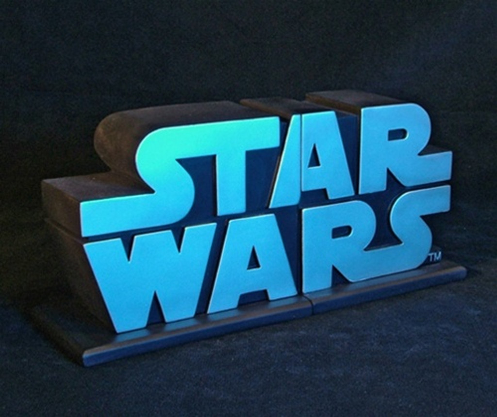 Star Wars Logo Bookends Set Thumbnail 3