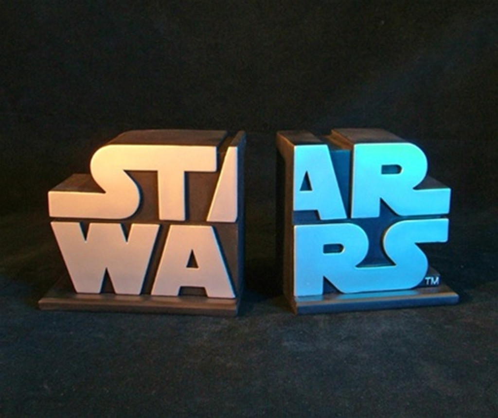 Star Wars Logo Bookends Set Thumbnail 4