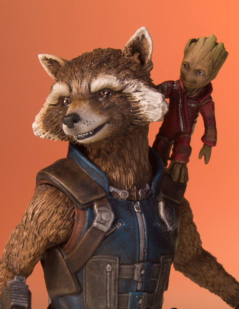 Rocket And Groot (Guardians Of The Galaxy Vol.2) Collectors Gallery Statue Thumbnail 11