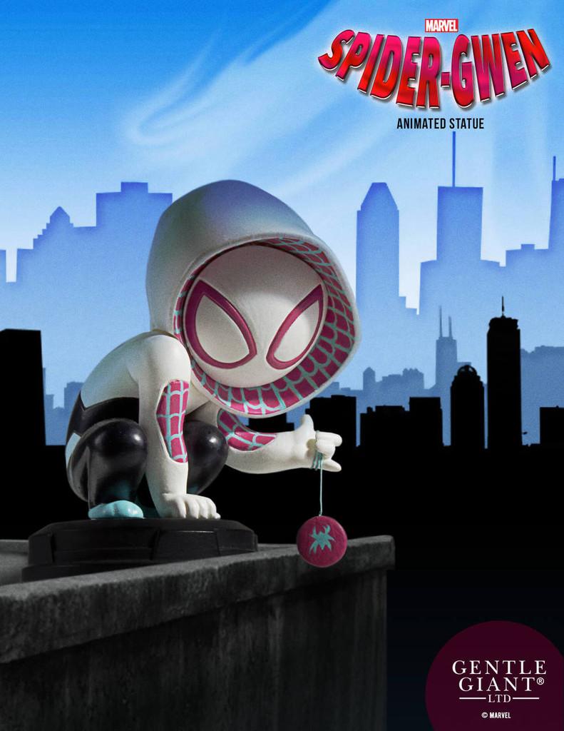 Animated Spider-Gwen Statue
