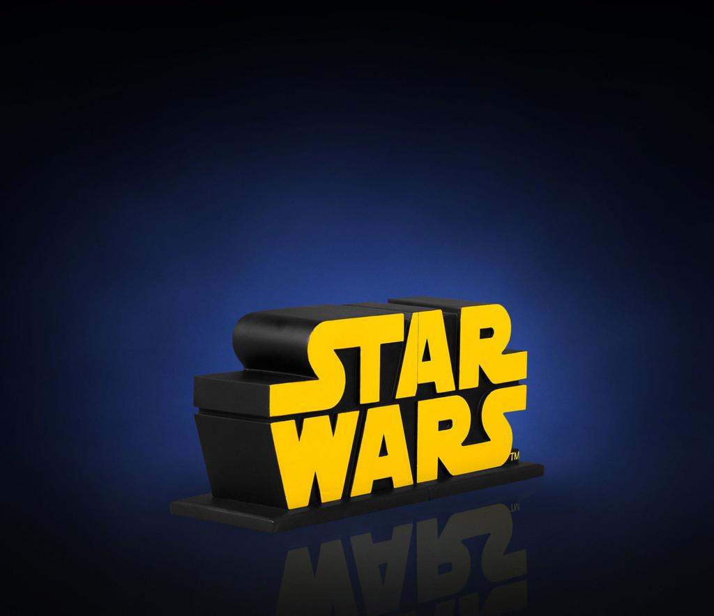 Star Wars Logo Bookends Thumbnail 3