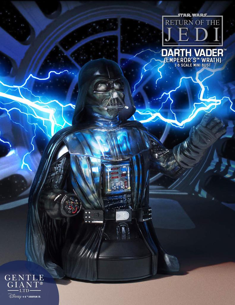 Darth Vader Emperor's Wrath Mini Bust