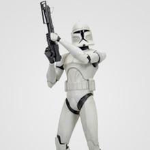 Clone Wars White Clone Trooper Maquette Thumbnail 3