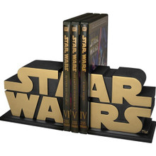 Gold Star Wars Logo Bookends - AFX Exclusive Thumbnail 3