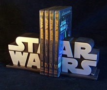 Star Wars Logo Bookends Set Thumbnail 5