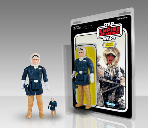 Han Solo (Hoth Outfit) Kenner Jumbo Figure Thumbnail
