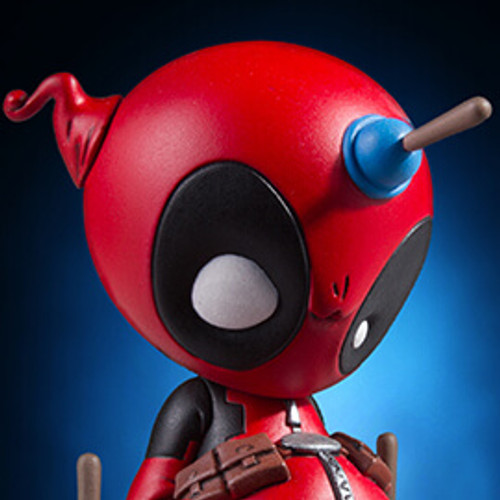 Animated Deadpool Statue Thumbnail