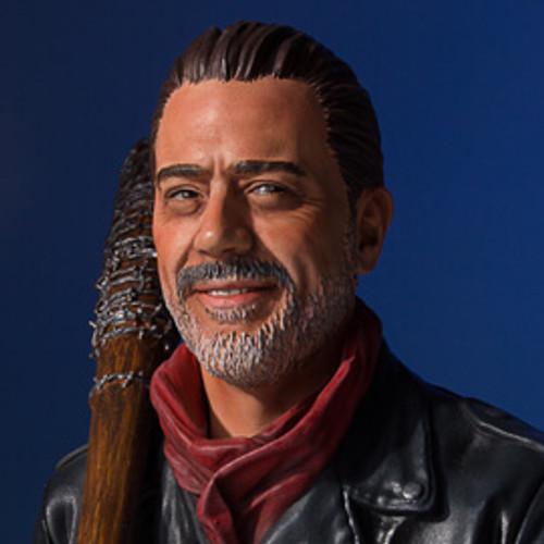 Negan The Walking Dead Mini Bust - SDCC 2017 Exclusive Thumbnail
