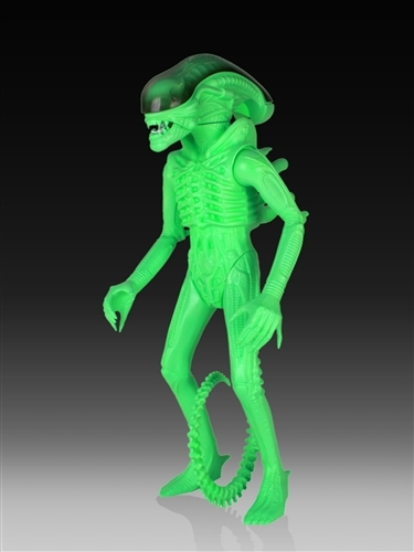 Alien Glow-In-The-Dark Vintage Jumbo Figure - SDCC 2014 Exclusive Thumbnail