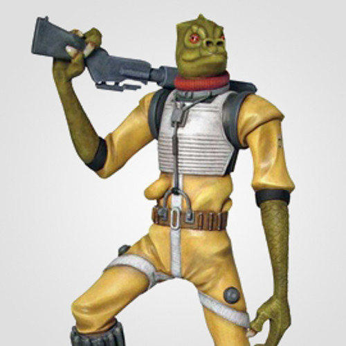 Animated Bossk Maquette Thumbnail