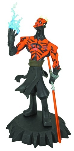 Animated Darth Maul Maquette Thumbnail