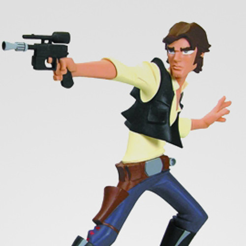 Animated Han Solo Maquette Thumbnail