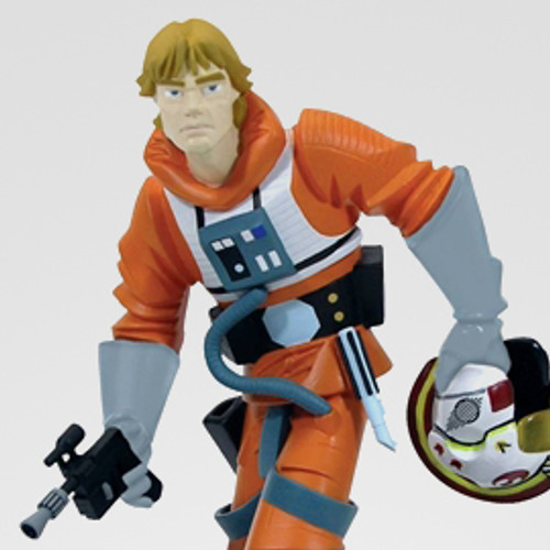 "Animated Luke Skywalker ""X-Wing Pilot"" Maquette Thumbnail"