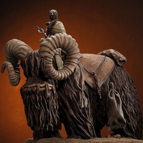 Bantha And Tusken Raider Statue - Regular Release Thumbnail