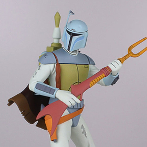 Boba Fett Holiday Special Animated Maquette Thumbnail