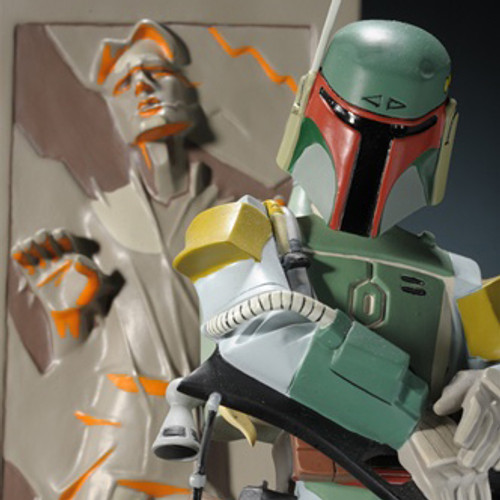 Boba Fett With Han In Carbonite Animated Maquette Thumbnail